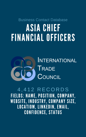 Asia Chief Financial Officers