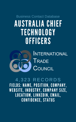Australia Chief Technology Officers