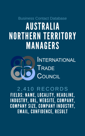 Australia Northern Territory Managers
