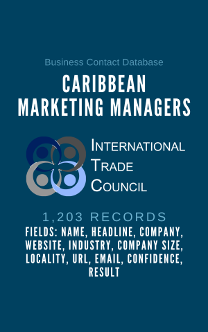 Caribbean Marketing Managers