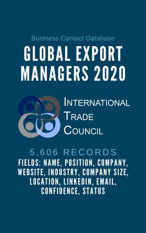 Global Export Managers 2020