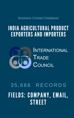 India Agricultural Product Exporters and Importers