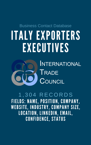 Italy Exporters Executives