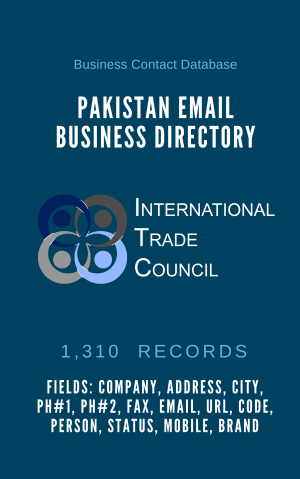 Pakistan Email Business Directory