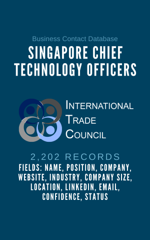 Singapore Chief Technology Officers