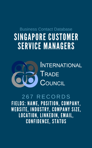 Singapore Customer Service Managers