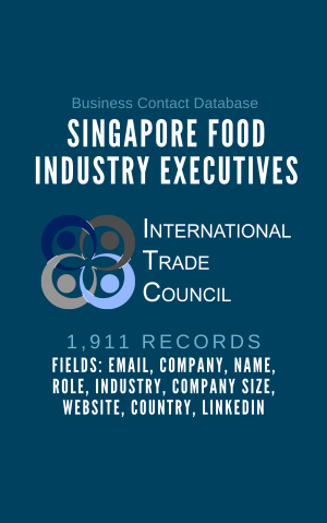 Singapore Food Industry Executives