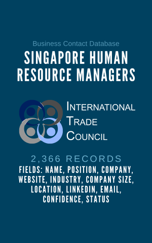 Singapore Human Resourcce Manager