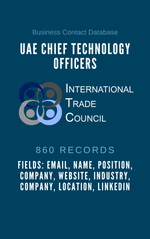 UAE Chief Technology Officers