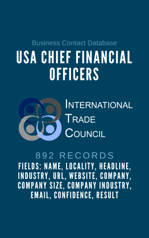 USA CHIEF FINANCIAL OFFICERS