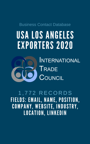 USA Los Angeles Exporters 2020