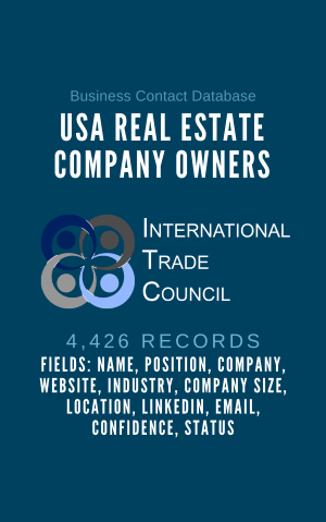 USA Real Estate Company Owners