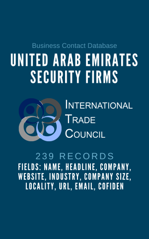 United Arab Emirates Security Firms