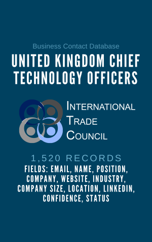 United Kingdom Chief Technology Officers