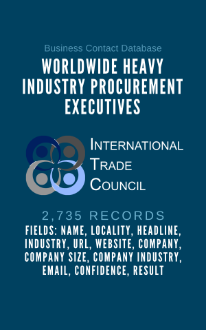 Worldwide Heavy Industry Procurement Executives