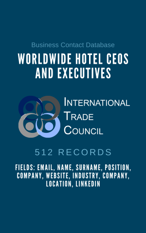 Worldwide Hotel CEOs and Executives