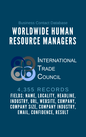 Worldwide Human Resource Managers