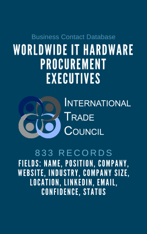 Worldwide IT Hardware Procurement Executives