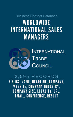 Worldwide International Sales Managers
