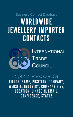 Worldwide Jewellery Importer Contacts