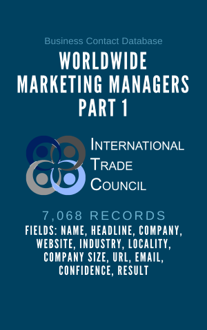 Worldwide Marketing Managers Part 1