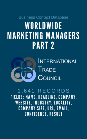 Worldwide Marketing Managers Part 2