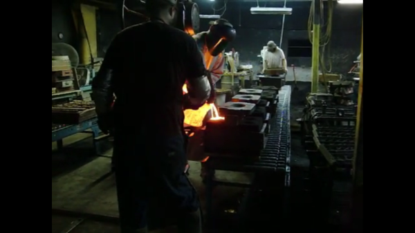 Bronze Casting with the Staff at Patriot Foundry & Castings