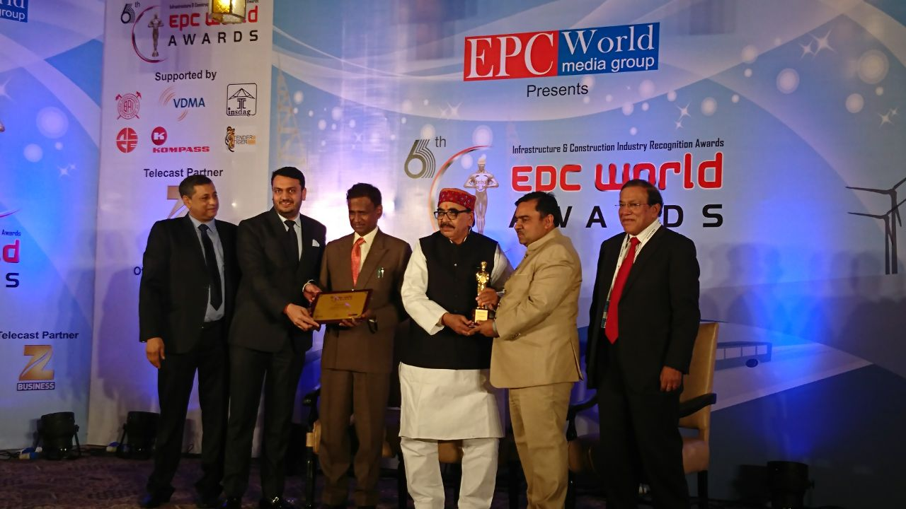 Richa Industries - Outstanding PEB Company during 6th EPC world awards